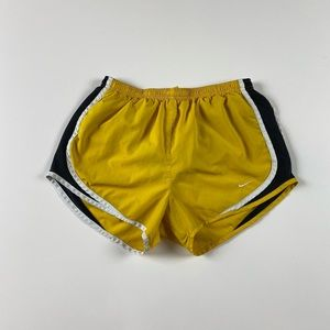 Nike Livestrong Running Shorts Size Small Yellow